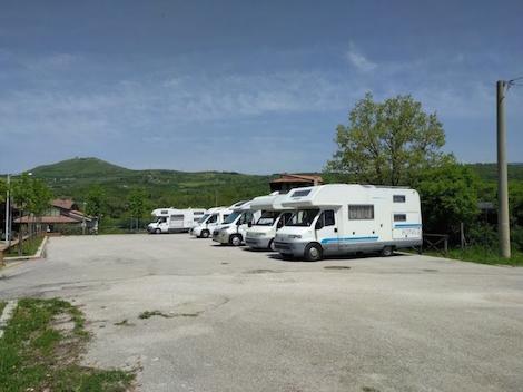 area camper satriano di lucania