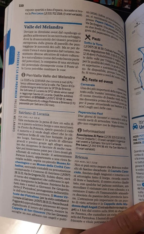 lonely planet basilicata 2020 carnevale