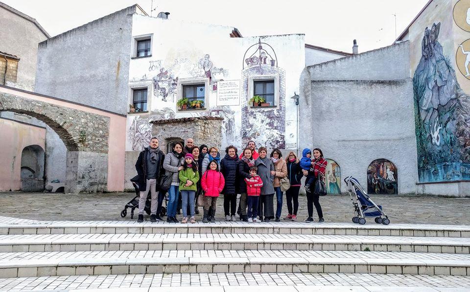 visita guidata murales satriano