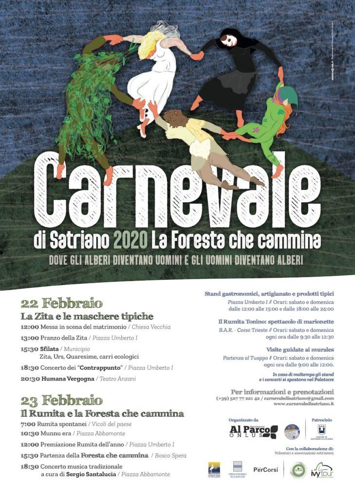 Locandina Carnevale di Satriano 2020