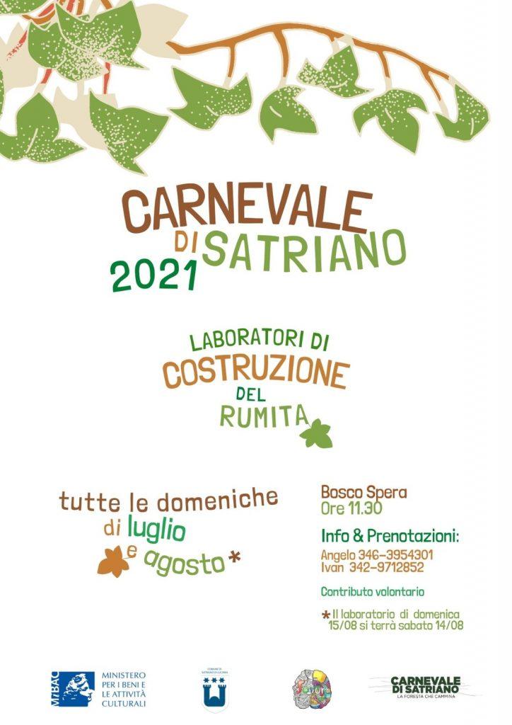 Locandina Carnevale 2021